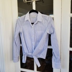 Madewell - Pin Stripe Button Down